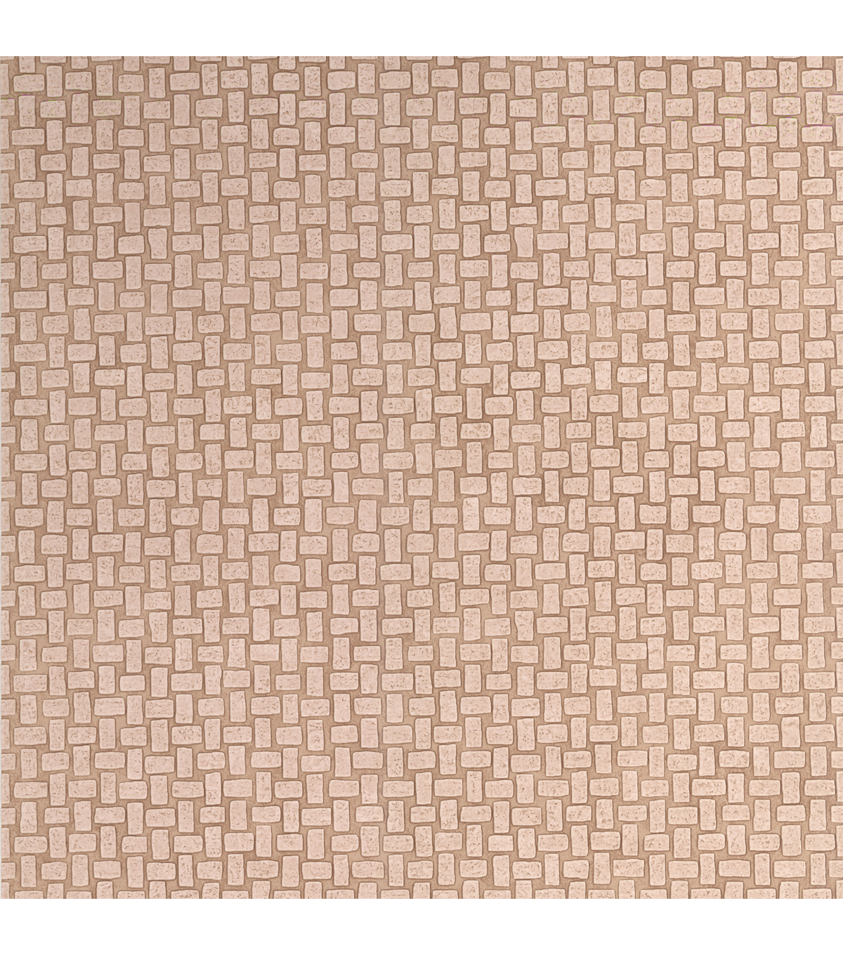 Crete Cream Small Tile Wallpaper Sample