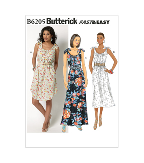 Butterick Misses Dress-B6205