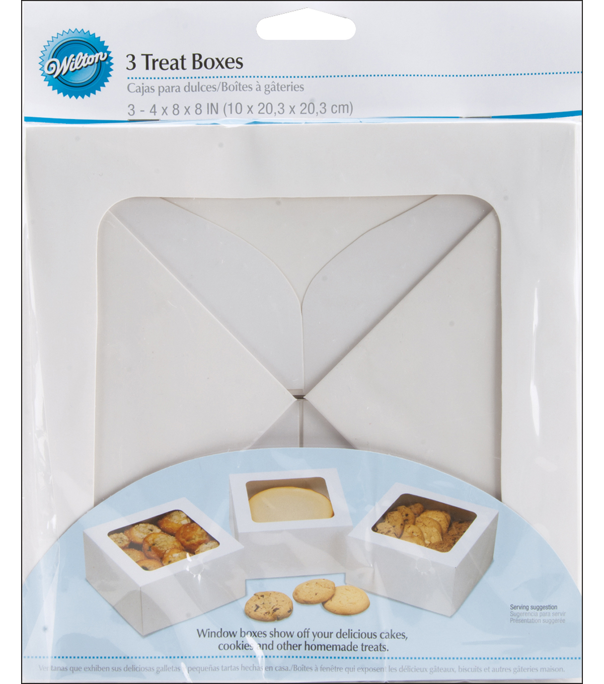 Wilton® Large Treat Box-White