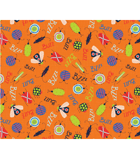 Snuggle Flannel Fabric 42\u0022-Bzzz