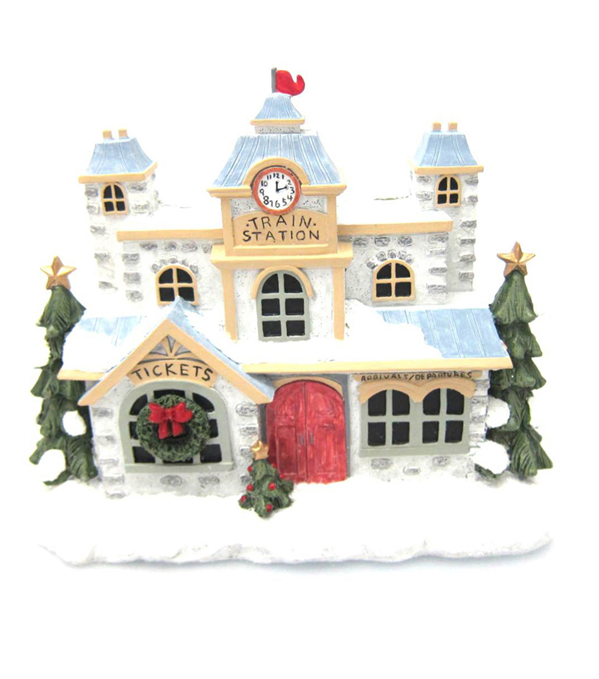 Maker\u0027s Holiday Resin Train Station