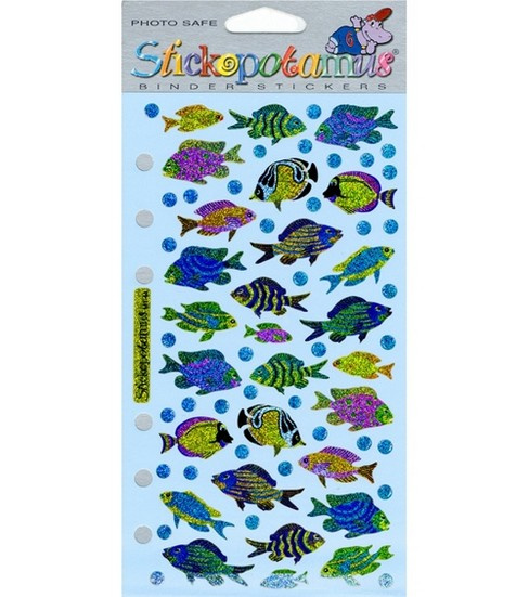 Sticko Stickers-Funky Fish