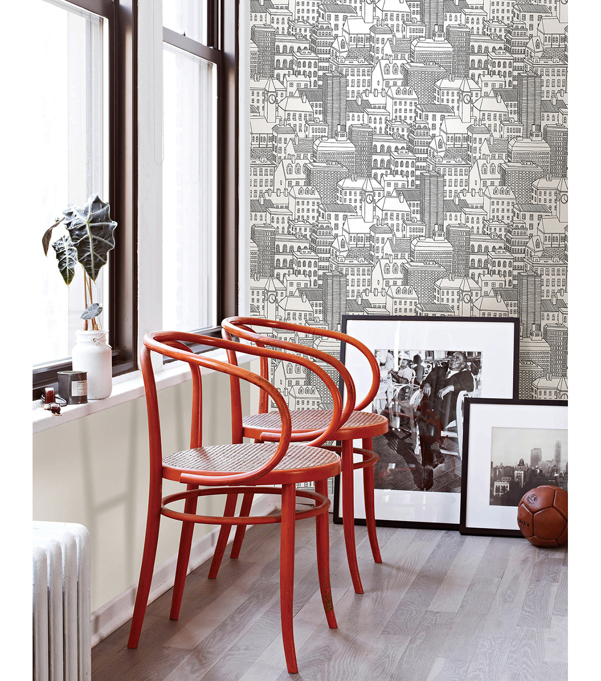WallPops® NuWallpaper™ Metropolis Peel and Stick Wallpaper