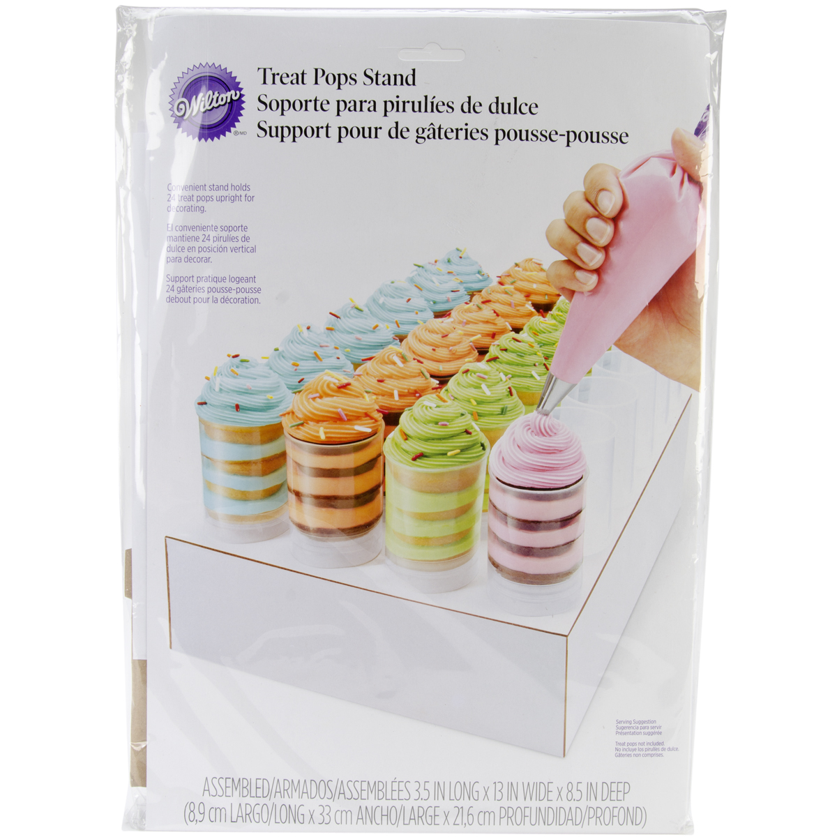 Wilton® Treat Pops Decorating Stand-White-Holds 24