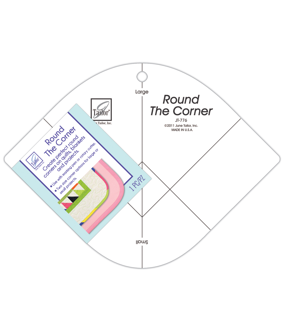 June Tailor® Round the Corner Ruler