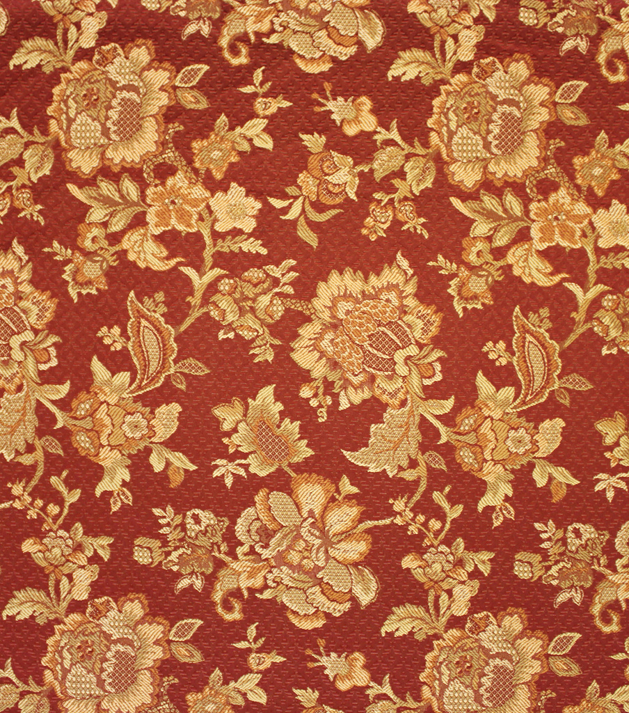 Home Decor 8\u0022x8\u0022 Fabric Swatch-Upholstery Fabric Barrow M6544-5458 Cardinal