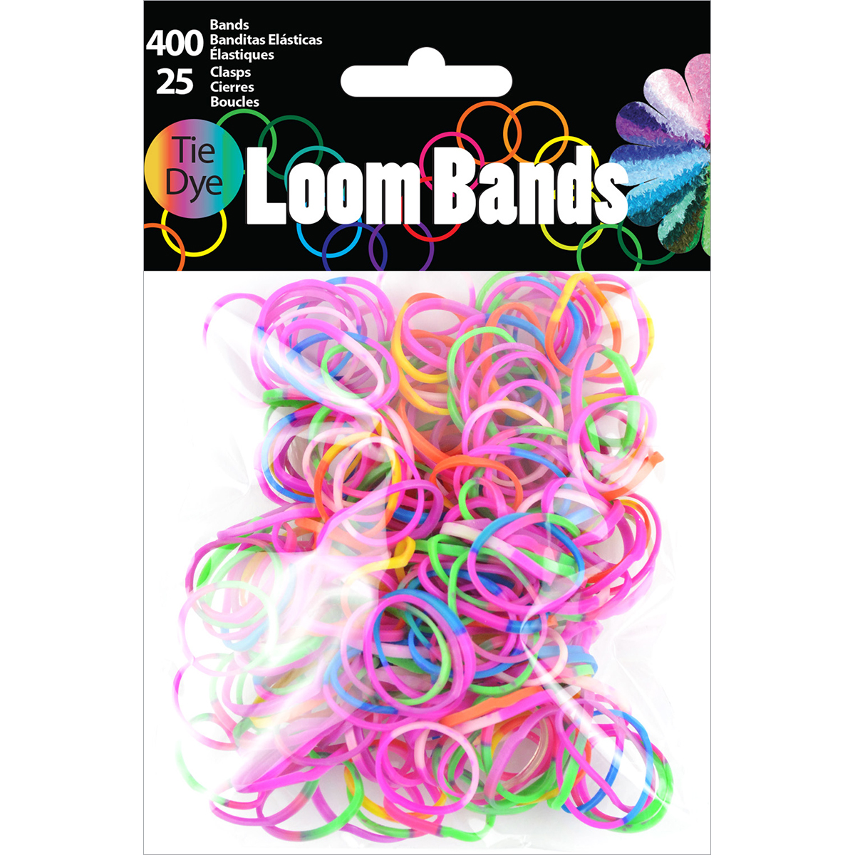 Loom Bands Tie-dye Assortment 425pc