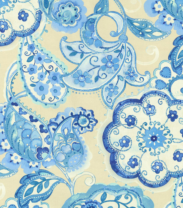 P/K Lifestyles Upholstery Fabric 54\u0022-Artist Colony/Porcelain