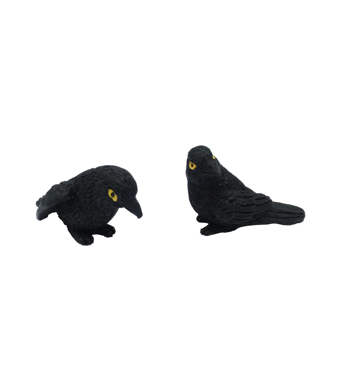 makers halloween littles 2 pack 175 halloween crows - Halloween Crows