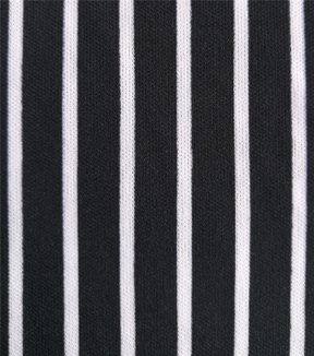 The Witching Hour Knit Fabric 58\u0022-Black & White