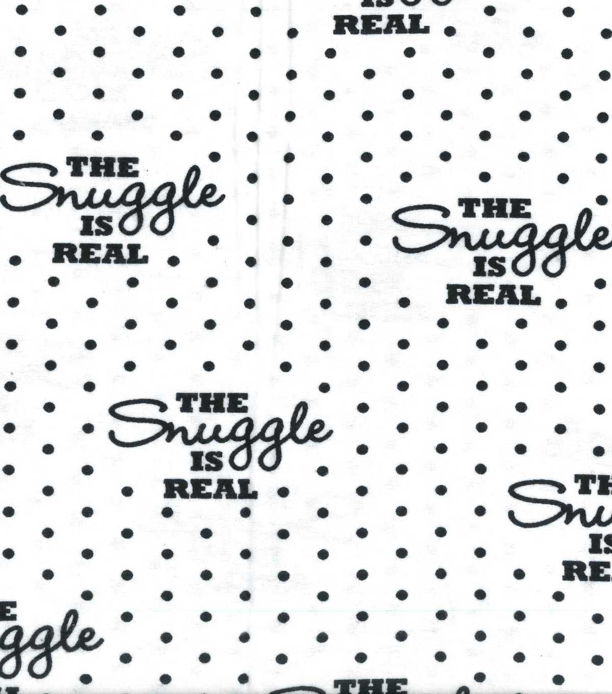 Snuggle Flannel Fabric 59''-The Snuggle Is Real