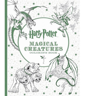 Harry PotterTM Magical Creatures Coloring Book
