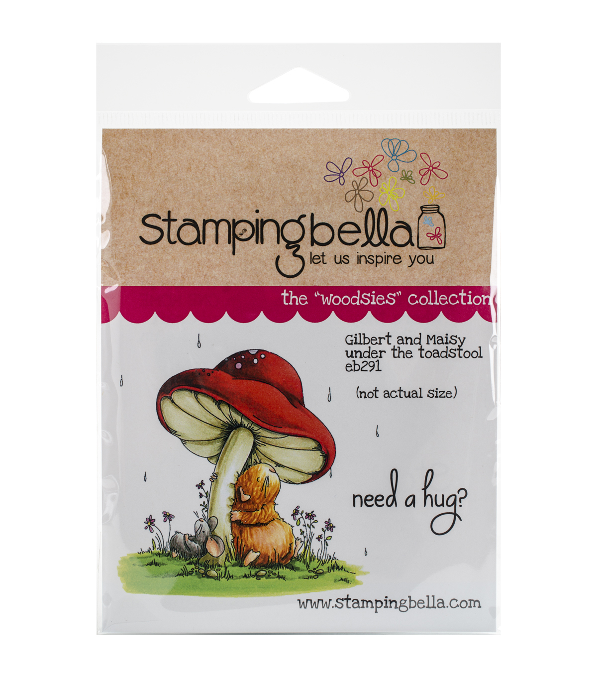 Stamping Bella Gilbert Maisy Under The Toadstool Cling Stamp