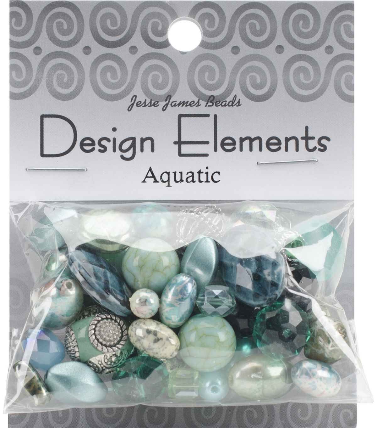 Design Elements Beads 28g-vanilla Sugar