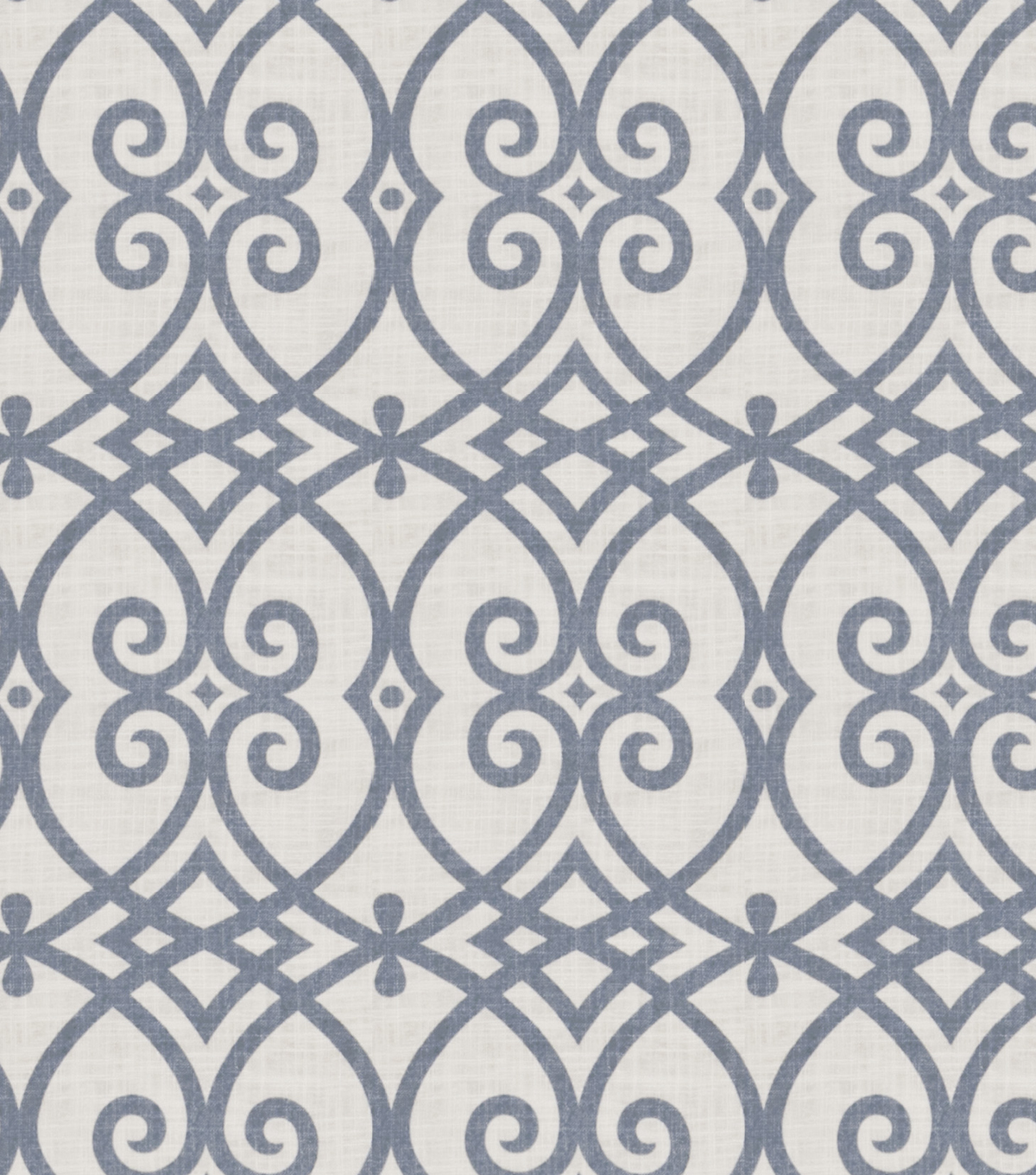 Jaclyn Smith Multi-Purpose Decor Fabric 54\u0022-Gatework Rot/Indigo