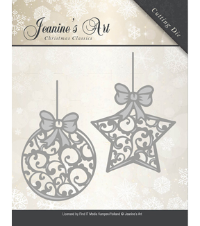 Jeanine\u0027s Art Christmas Classics Die-Christmas Ornaments
