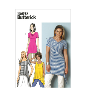 Butterick Misses Top-B6058