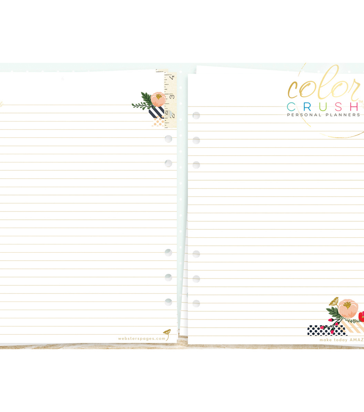 A5 Personal Planner Double-Sided Inserts-Write It Down