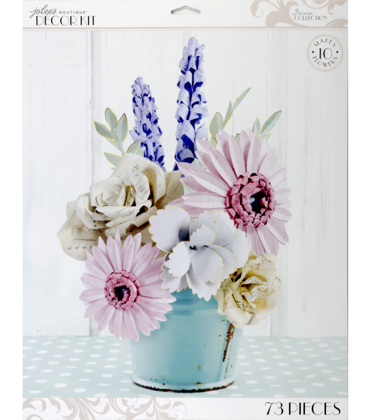 Jolee\u0027s Boutique Parisian Large Paper Flowers Kit