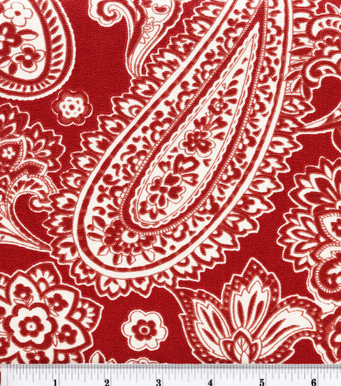 Home Essentials Print Fabric 45\u0022-Dana/Red