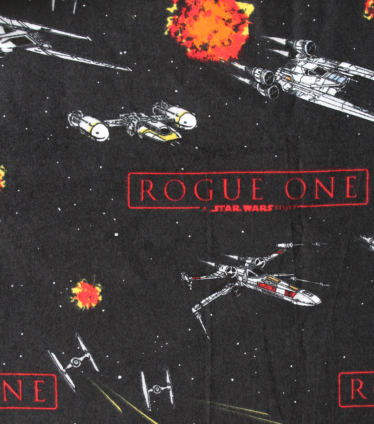 "Star Wars™ Rogue One Flannel Fabric 42""-Ships"