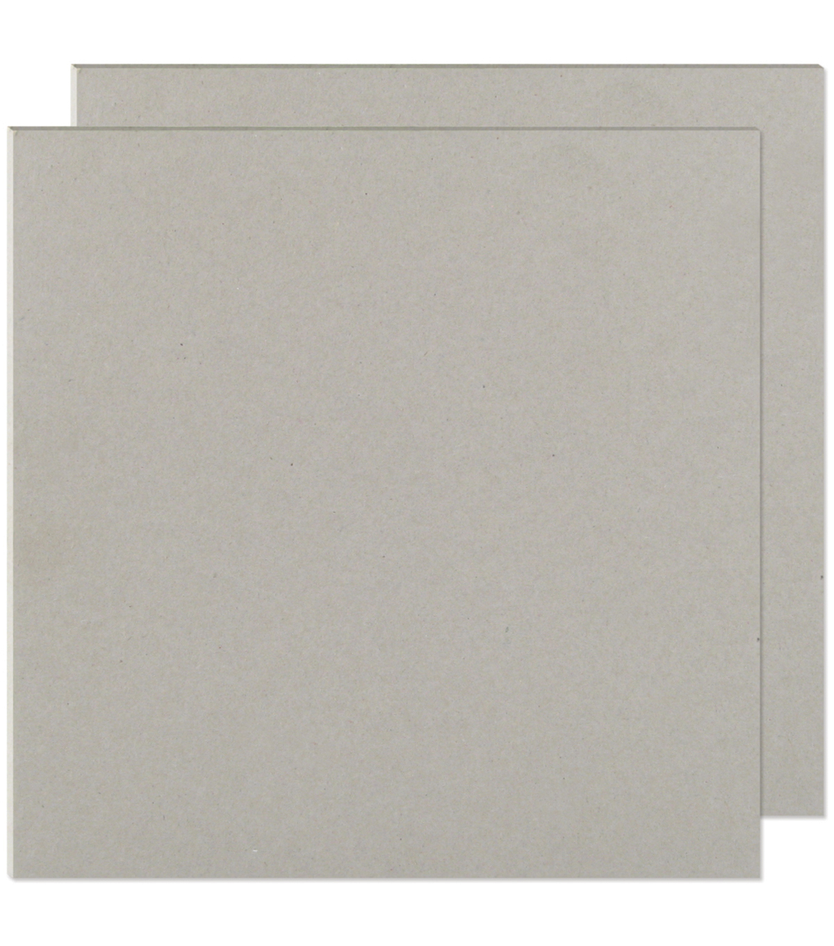 "We R Memory Keepers 12""x12"" Cinch Book Board-2PK/Gray"