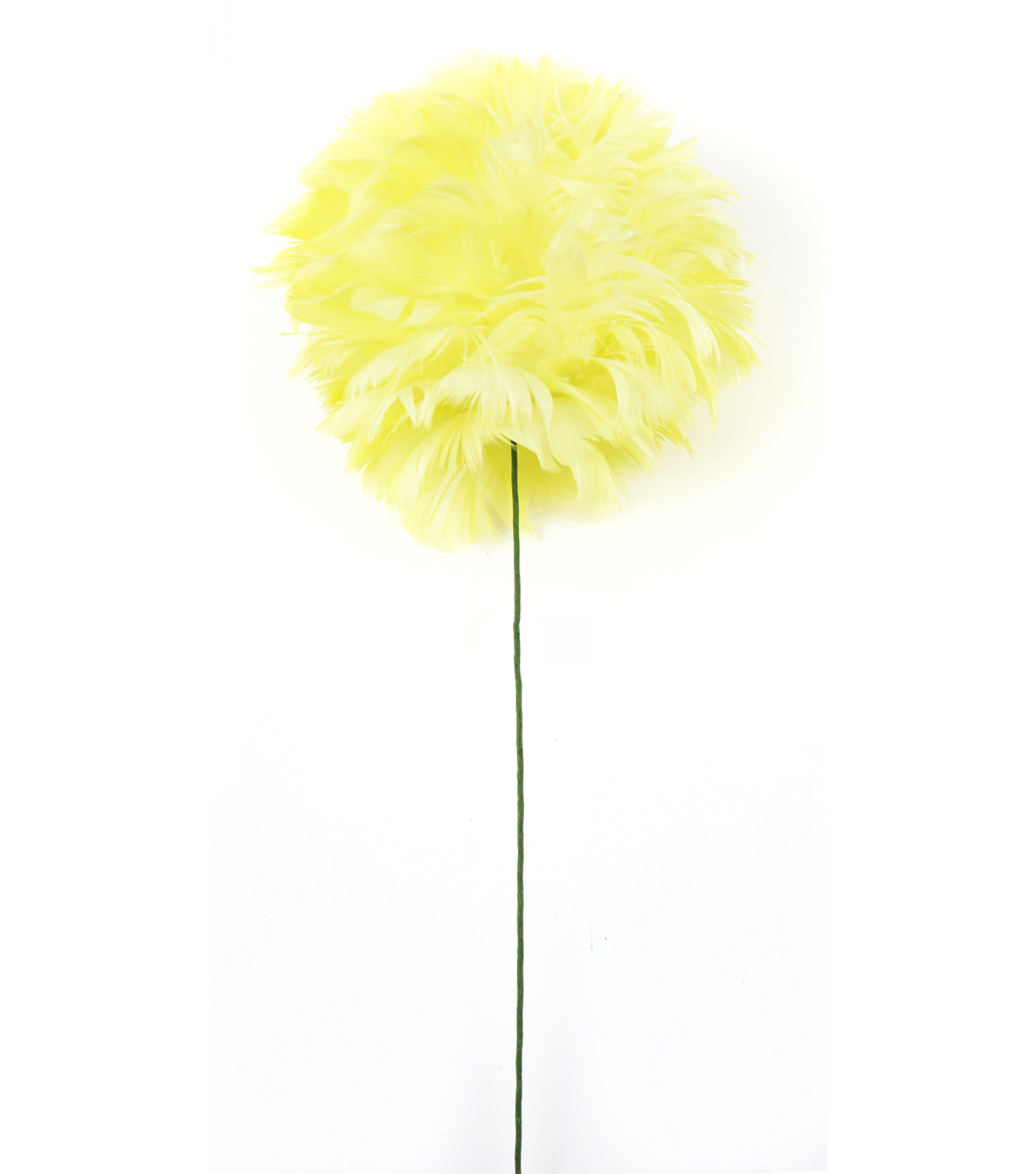 "Bloom Room 24"" Open Peony Stem-Baby Yellow"