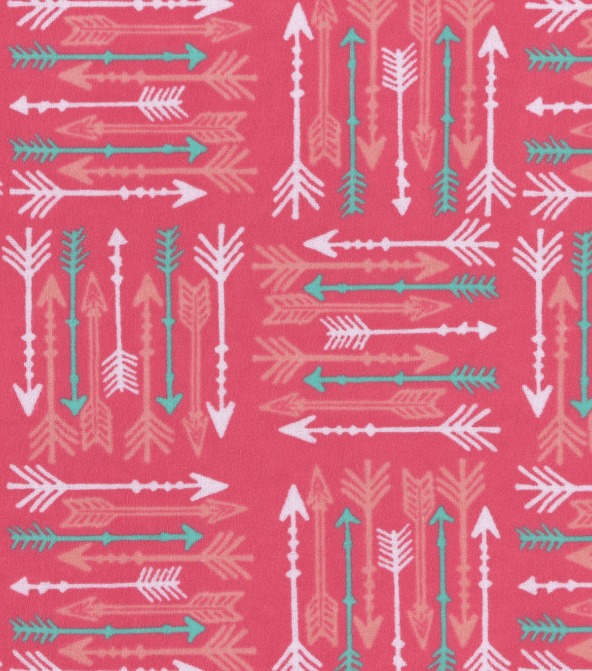 3 Yard Pre-Cut Snuggle Flannel Fabric 42\u0022-Arrows