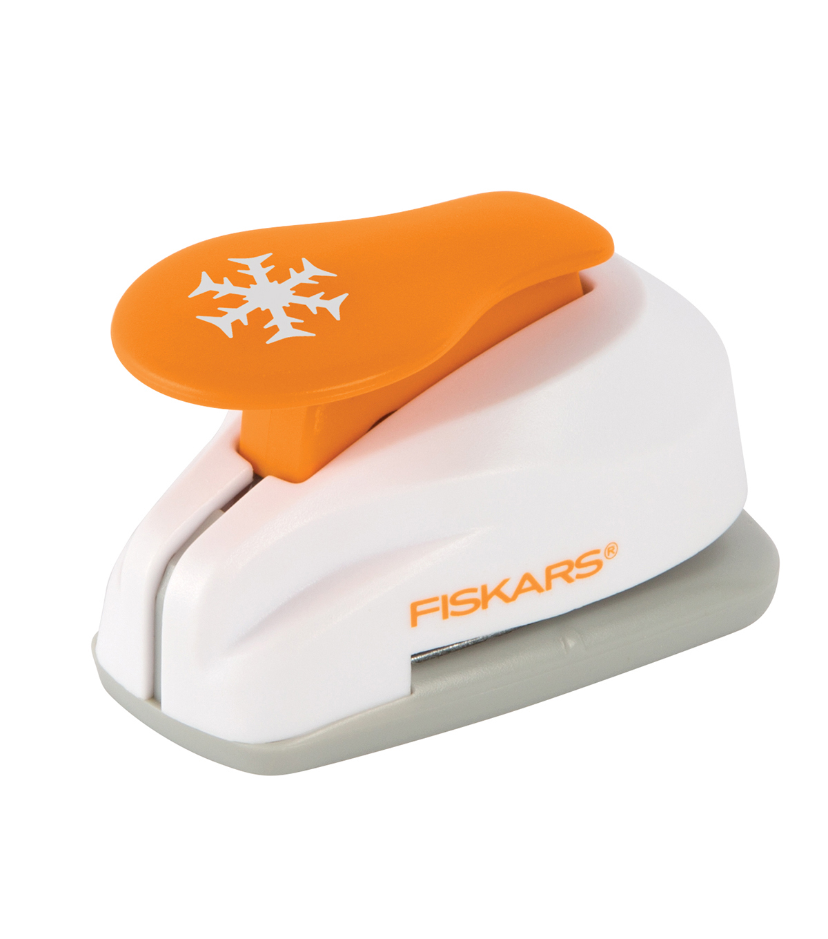 Fiskars Lever Punch, Small - Snowflake