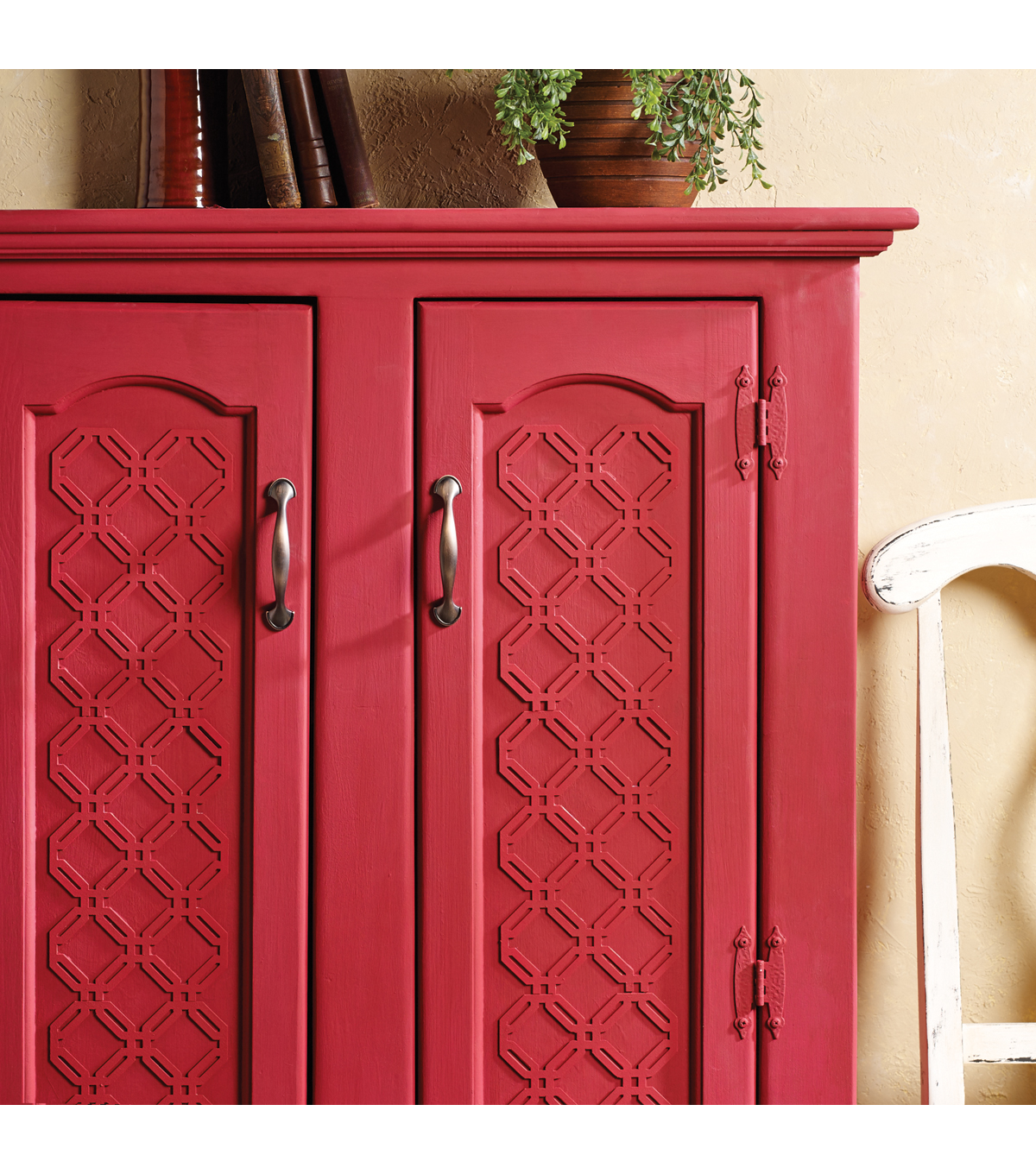 Buttercream™ Audrey Collection Long Furniture Applique-Latticework