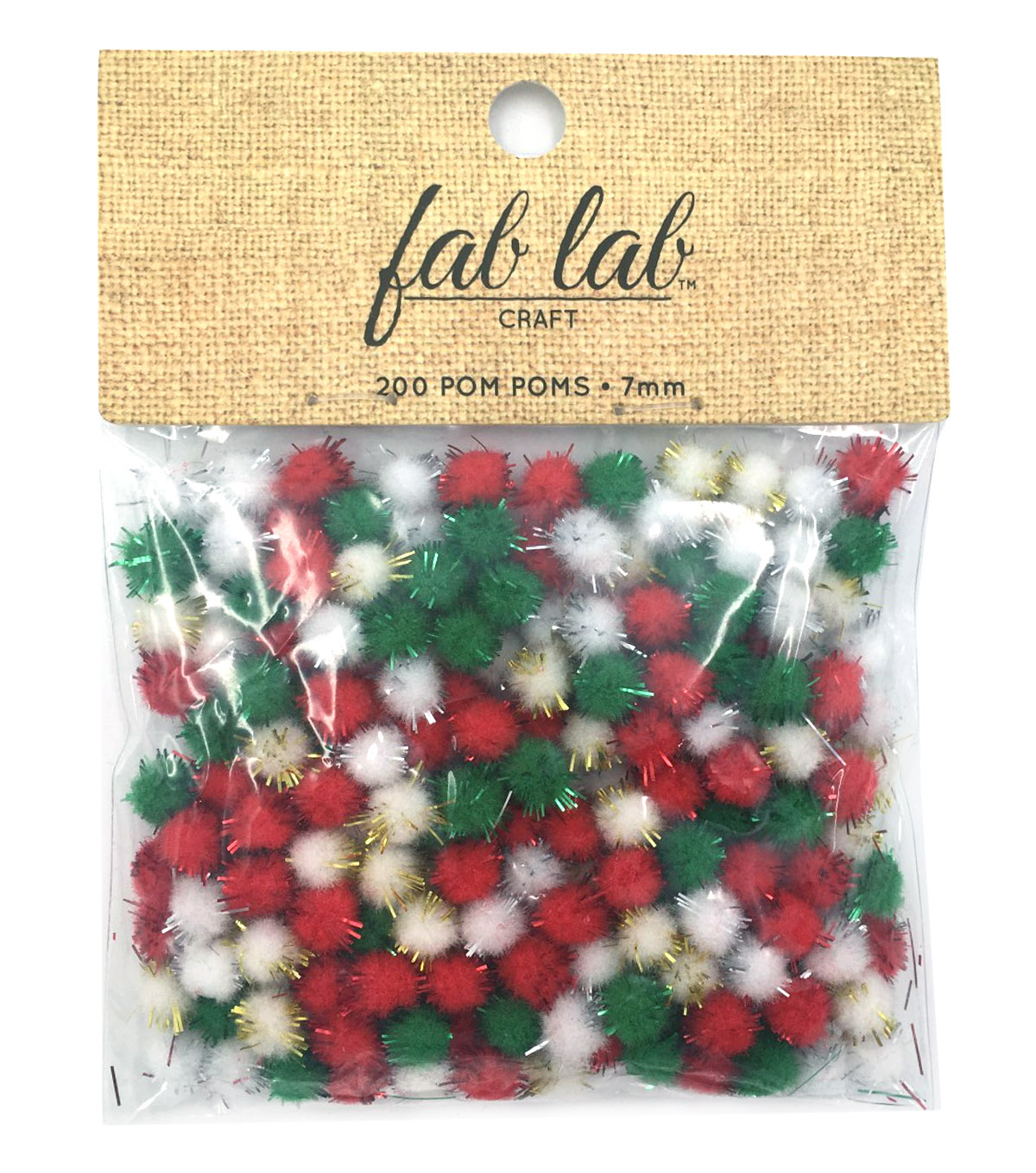Best Value 7Mm Tinsel Pom Poms