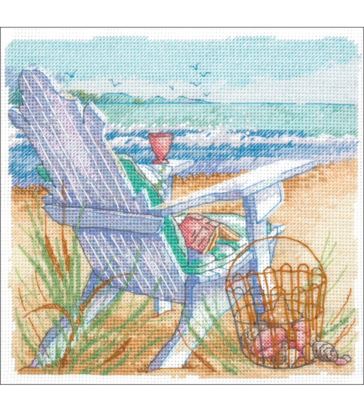 Dimensions Gold Collection Counted Cross Stitch Kit Tide View Petite