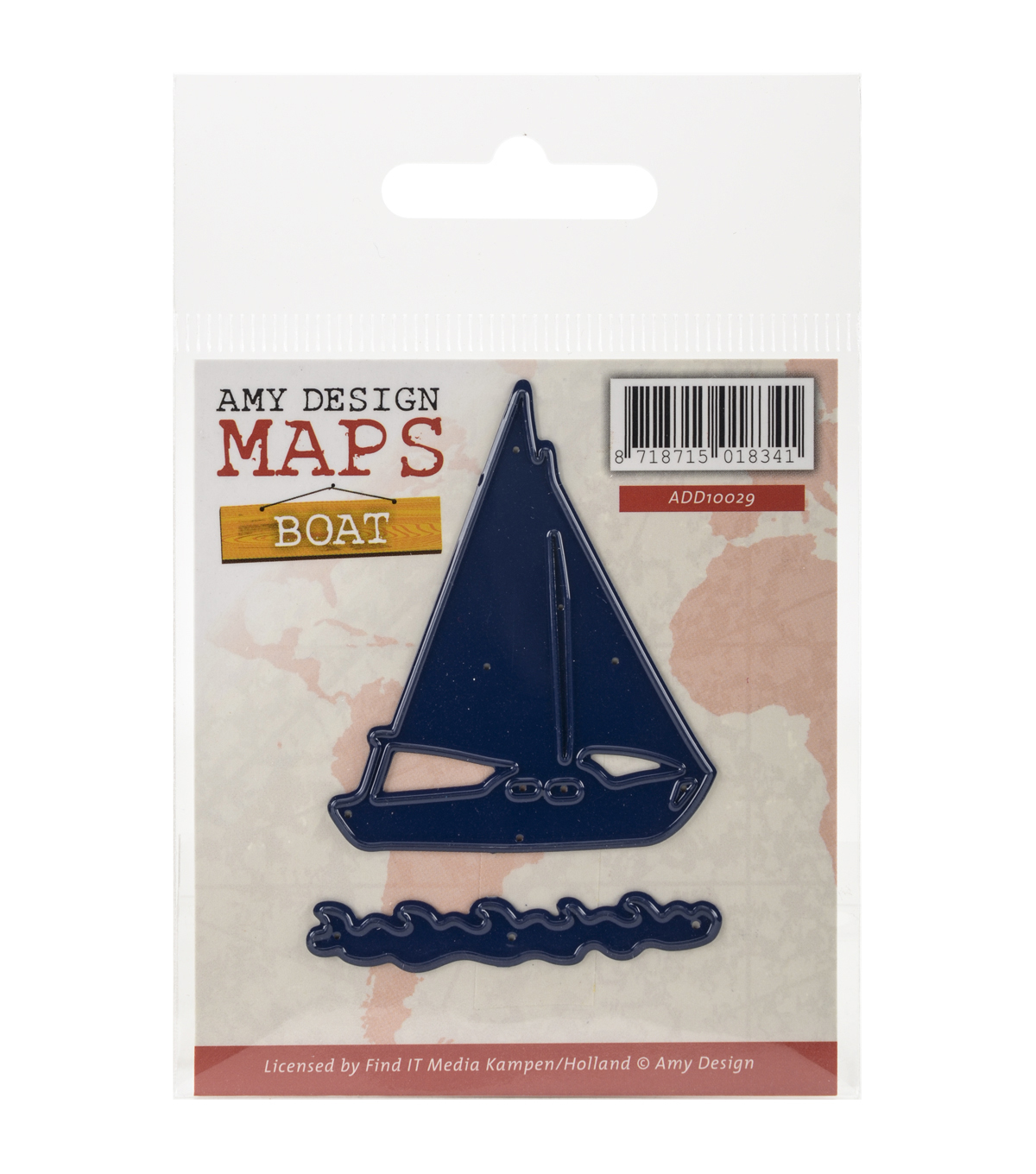 Amy Design Find It Trading Map Die-Boat