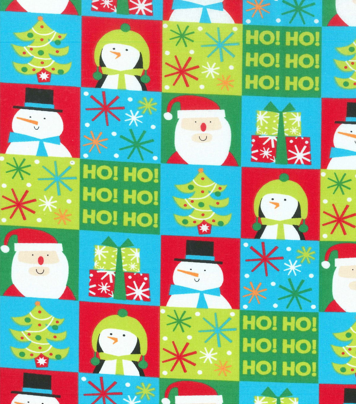 "Christmas Cotton Fabric 43""-Bright Holiday"