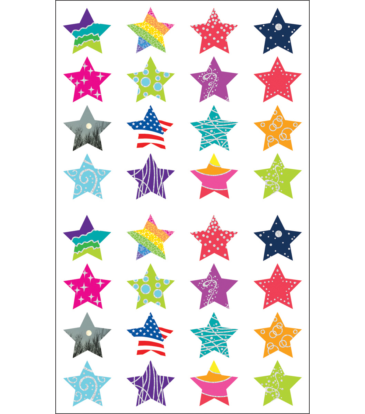 Mrs. Grossman\u0027s Stickers-Star Struck