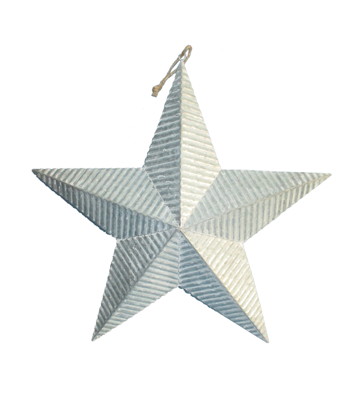 Maker\u0027s Holiday Christmas Galvanized Metal Corrugated Star Wall Decor