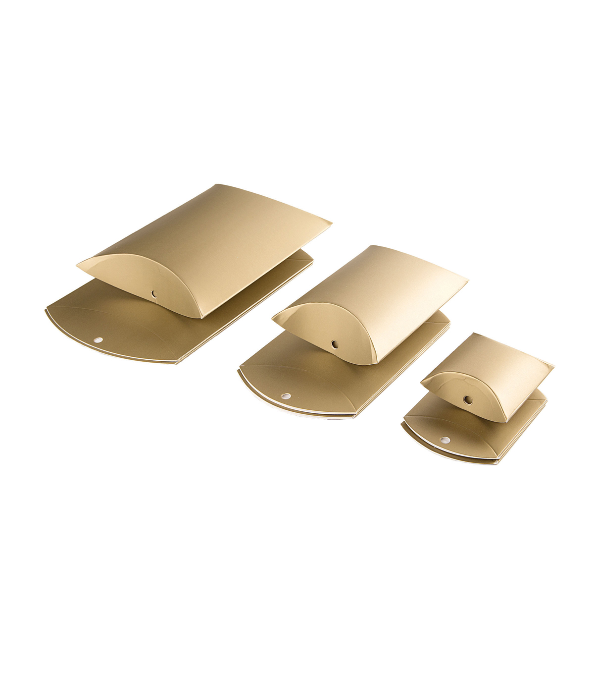 Pillow Boxes-Gold 9pk