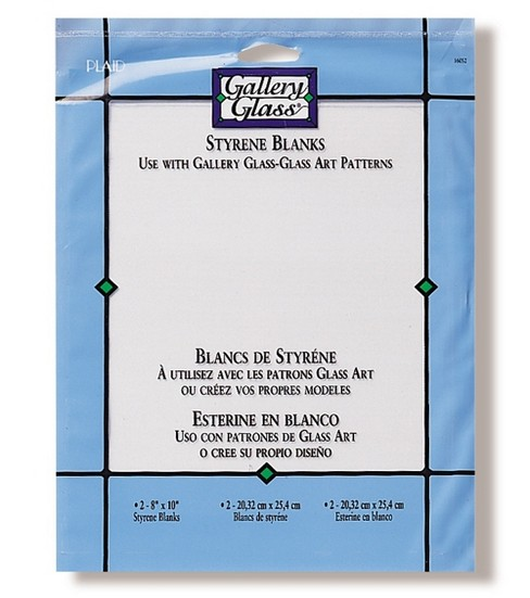 Gallery Glass Leading Blank Pack 3/pkg 8 x10