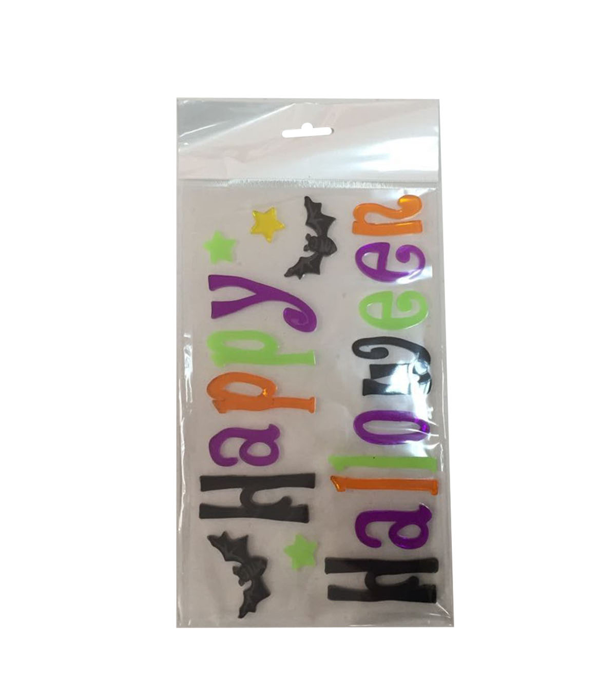 Maker's Halloween Gel Cling-Happy Halloween