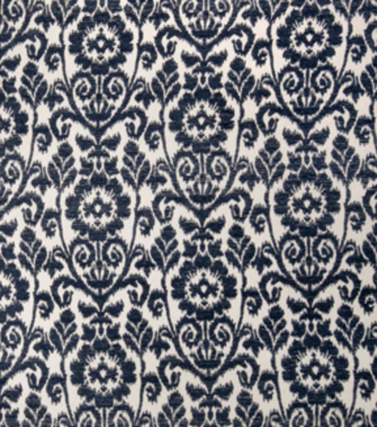 "Home Decor 8""x8"" Fabric Swatch-Upholstery Fabric Eaton Square Herald Navy"