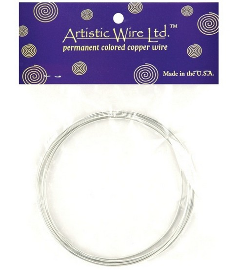 Artistic Wire 16 Gauge Permanent Color Tinned Copper Wire-10 ft/Copper
