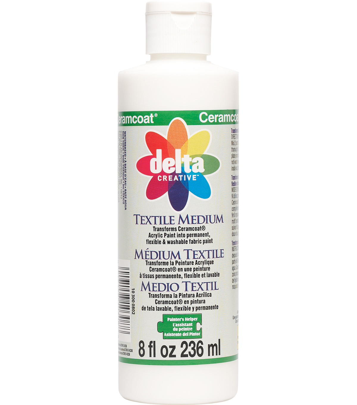 Ceramcoat Painters Helper Textile Medium-8oz