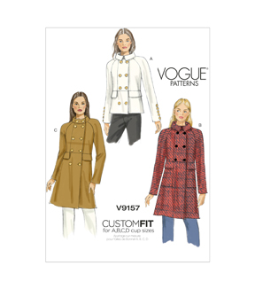 Vogue Patterns Misses Outerwear-V9157