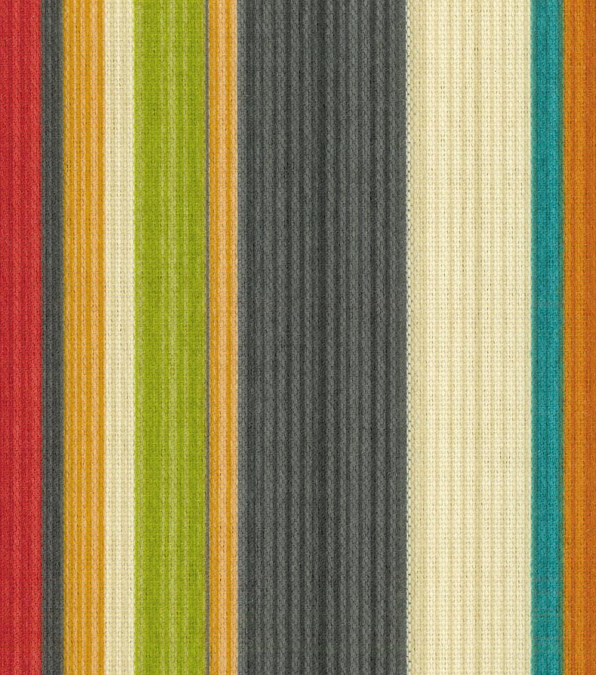 Waverly Sun N\u0027 Shade Outdoor Fabric 54\u0022-Draw the Line Fiesta