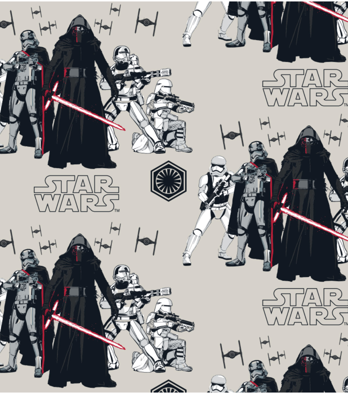 Star Wars VII Villains Flannel Fabric