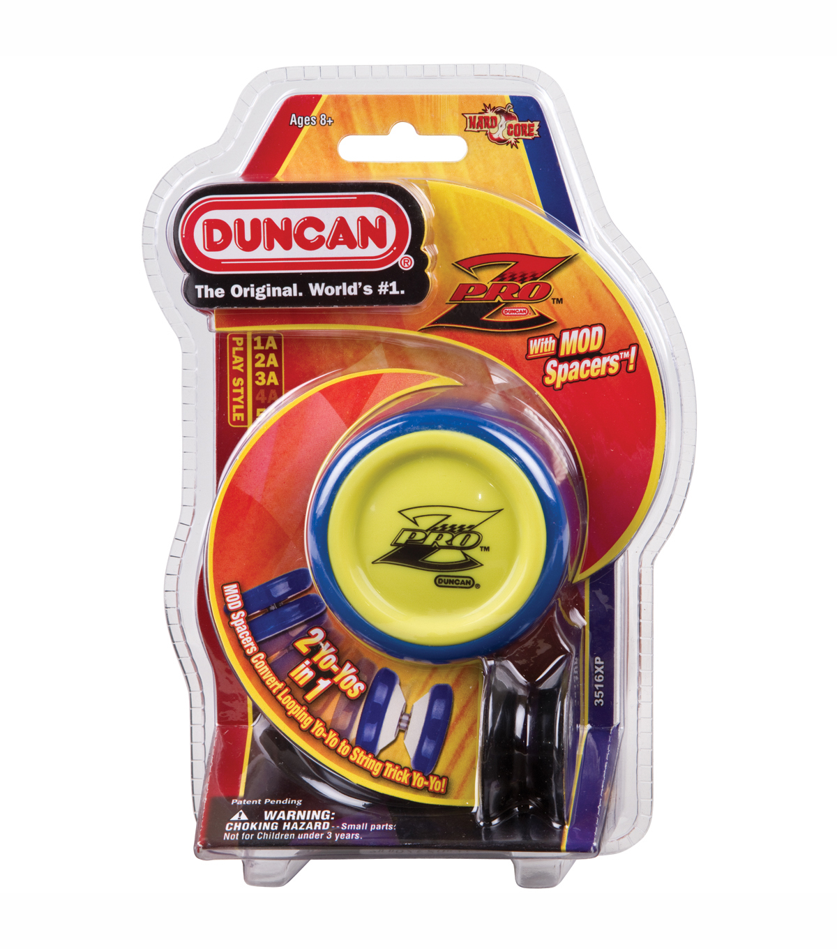 Duncan Toys  Yo Yo Pro Z With Mod Spacers Multicolor
