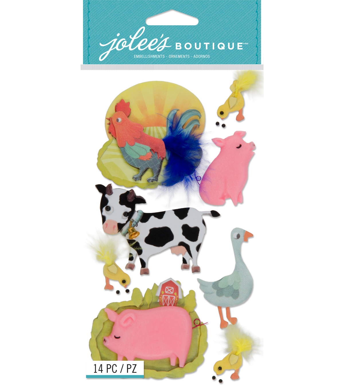 Jolee's Boutique® Stickers-Farm Animals