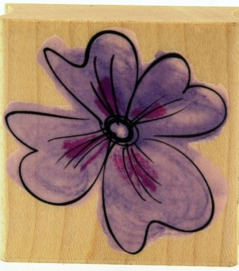Hero Arts Rubber Stamp-Hibiscus Style