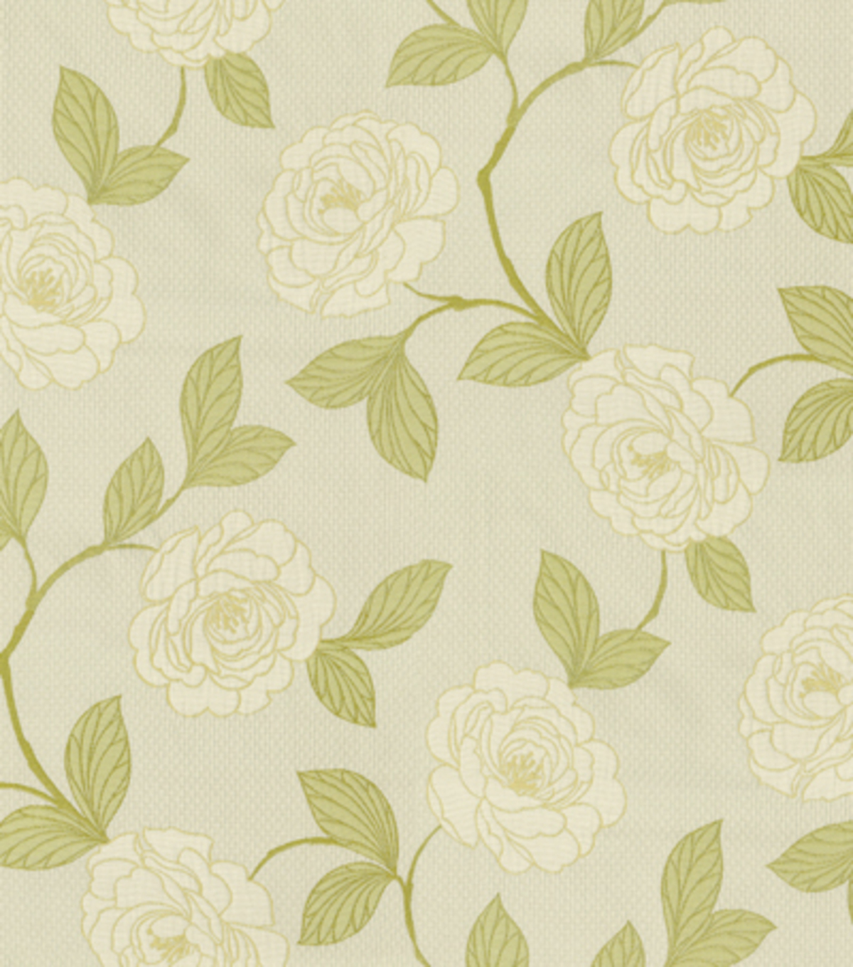 Home Decor 8\u0022x8\u0022 Fabric Swatch-Upholstery Fabric-Waverly Flirty Floral/Dill