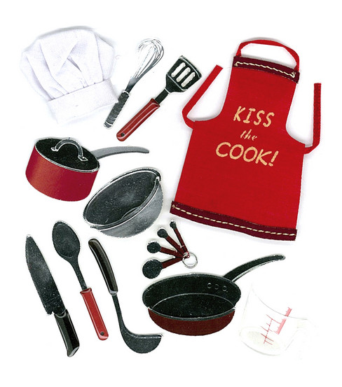 Jolee's Boutique Dimensional Embellishments-Cooking